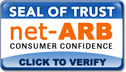 net-ARB Consumer Confidence Program Seal of Trust for Online Arbitration by Email